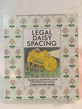 Legal Daisy Spacing Vintage Book (Hardcover 1985) Christopher Winn