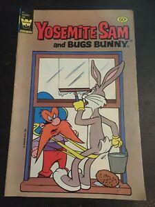 Yosemite Sam#77 Awesome Condition 8.0(1982) Bugs Bunny App!!