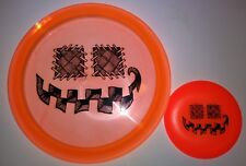 New Innova Champ Thunderbird Halloween Pumpkin Stamp 175g + Mini Disc Golf