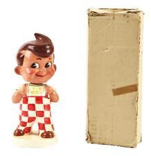 Vintage Japanese Big Boy Restaurant Advertisement Nodder with Original Box