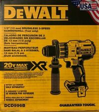 DeWalt DCD996B 20V Max XR Brushless Cordless 1/2 Hammer Drill, NEW IN BOX