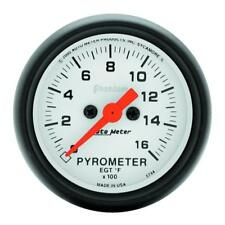 "Auto Meter Boost/Pyrometer Gauge 5744; Phantom Kit 1600°F 2-1/16"" Electrical"