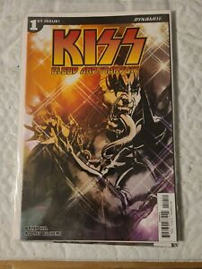 Kiss Blood and Stardust #1 A Cover Dynamite NM Comics Book