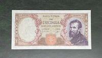 10000 LIRE BANCA D'ITALIA MICHELANGELO MEDUSA 14/01/1964 qFDS