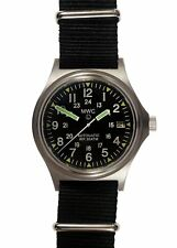 MWC G10 300m Auto Ltd Edition Brushed Steel Military Watch / Sapphire Crystal