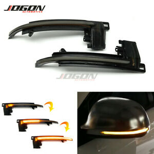 Dynamic Turn Signal Side Mirror For Audi Q3 RS A4 A5 B8 A6 S6 RS6 C6 A8 S8 A3 S3