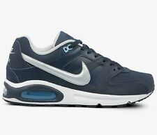 Nike Mens AIR MAX COMMAND Obsidian / Metallic Silver Trainers - uk 6 - eu 40 -
