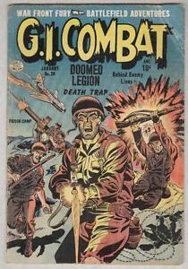 G.I. Combat #20 January 1955 G/VG