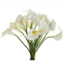 10x Mini Artificial Calla Lily Wedding Flowers Bouquet Calla lily Foam Decor Hot