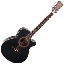 413264 Rocktile Empire Guitare Folk avec Micro Noir