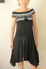 HIGH USE robe haut de gamme noire TAILLE M luxe NEUVE S ÉTIQUETTE