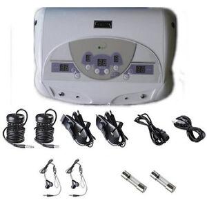 LOT OF 3 DUAL CHI IONIC ION DETOX FOOT BATH AQUA SPA CLEANSE MP3
