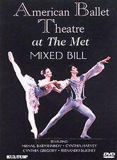 American Ballet Theatre at the Met - Mixed Bill ~ DVD  Cynthia Gregory,Amanda Mc