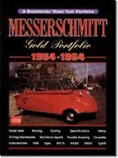 MESSERSCMITT BUBBLE CAR MICRO CAR BROOKLANDS GOLD PORTFOLIO CAR BOOK  jm
