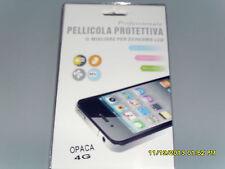 IPHONE 4G PELLICOLA PROTETTIVA PROFESSIONALE OPACA IL MIGLIORE PER SCHERMO LCD