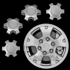 "4 fit 2005-2016 Toyota Tacoma 16"" Alloy Wheel Center Hub Caps 6 Lug Nut Rim Hubs"
