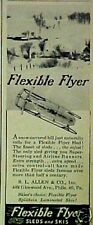 1947 Flexible Flyer Sled Kids Winter Snow Toy Print AD
