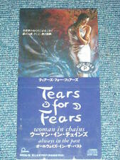 "TEARS FOR FEARS Japan 1989 NM Tall 3"" CD Single WOMAN IN CHAINS"