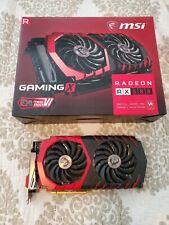 MSI AMD Radeon RX 580 8GB GDDR5 Graphics Card (RX580GAMINGX8G) 3338