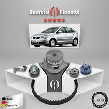 KIT DISTRIBUZIONE + POMPA ACQUA VW POLO IV 1.4 16V 74KW 101CV 2006 ->