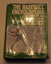 THE BASEBALL ENCYCLOPEDIA OFFICIAL RECORD OF MLB 1974 1ST PRINTING HC DJ  BOX30