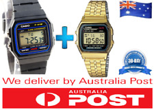 Casio Black F91w Classic Digital Alarm Wrist F-91-w Watch Retro Vintage
