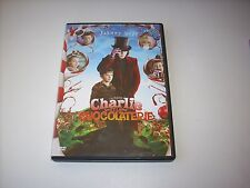 "(2) DVD "" CHARLIE ET LA CHOCOLATERIE "" UN FILM DE TIM BURTON AVEC JOHNNY DEPP"
