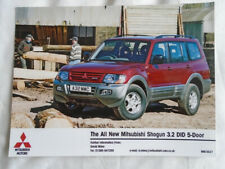 Mitsubishi Shogun 3.2 DID 5 door press photo
