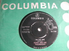 """GERRY & THE PACEMAKERS - I'M THE ONE - COLUMBIA 7"""""""