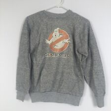 vintage ghost buster crewneck See Measurements Gray 80s 70s
