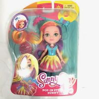 Sunny Day Pop In Style Sunny Multi Colored Hair Doll MATTEL NEW SEALED
