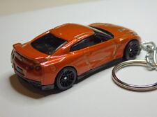 Hot Wheels 2017 Nissan GT-R R35 Coupe Keyfob Keychain Keyring