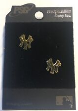 New York NY Yankees Pierced Stud Earrings NEW Jewelry - FREE U.S.A. SHIPPING