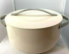 """Caraway Cookware Set Dutch Oven w/ Cover/Lid Cream 6.5Qt / 10.5"""" Dia. New"""