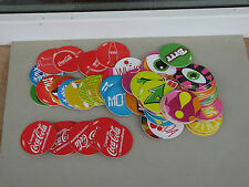 Coca cola memory game advertising round missing parts used rare share play