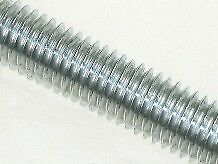 M12 x 1 metre Studding Mild Steel BZP - Bundle of 10