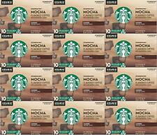 Starbucks Mocha Flavored Medium Roast Coffee K Cups 120 Count Best Before 6/2020