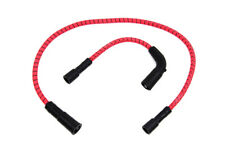 Sumax Red with Black Tracer 7mm Spark Plug Wire Set For Harley-Davidson