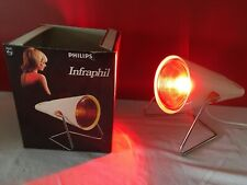 "Lampe Philips infraphil Design Deco loft 70's 80's Rare ""0061"""