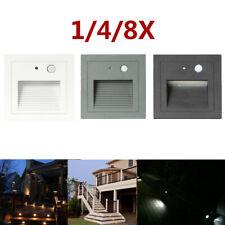 3 Вт 85-265 В открытый светодиод шаг свет встроенный лестница угловой настенный светильник с лестницы IP65