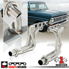 Stainless Steel Long Tube Exhaust Header Manifold for 69-79 Ford F100 5.0 V8 RWD