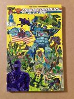 Transformers: Transformers vs G. I. Joe Vol 1 IDW 2015 TPB Graphic Novel