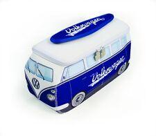 camping-car VW OFFICIEL étanche large pour hommes Trousse de toilette - Bleu