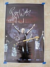 Roger Waters Pink Floyd Signed Autographed 20x30 Poster Photo BAS Certified Wall