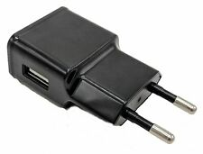 Travel Charger Plug 1USB Port Adapter EU Travel Wall Charger Cell Phones Tablet
