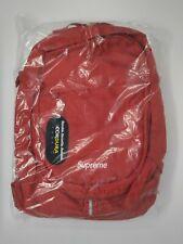 72eb6b8c64 2019 Supreme SS19 Backpack Red White Box Logo Cordura Nylon Jacquard Logo  NEW