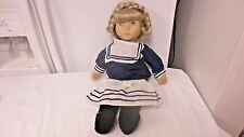 """Older Zaph Creation Marie-Luic Artist 18"""" Doll-Sailor/Navy Type outfit"""