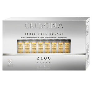 LABO Crescina Treatment Regrowth Hair Islands Follicular Cells 2100 Woman 40Fial