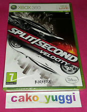 SPLIT SECOND VELOCITY XBOX 360 NEUF SOUS BLISTER VERSION 100% FRANCAISE