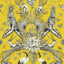 Belgravia Decor Menagerie Tiere Luxus Tapete Tropische Gelb 2001